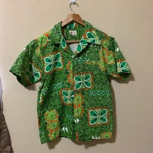 Vintage 80s Hawaiian shirt
